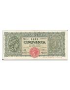 50 Lire - 1944  Italia Turrita - [ 1] …-1946: Königreich