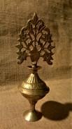 Ancien Flacon à KHOL - Arbre De Vie - Afrique Du Nord - Ethnique - Oriental Art