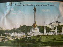 "1932..BELEM "" MONUMENTO DA REPUBLICA ""  OF  BRASILE..//..MONUMENTO DELLA REPUBBLICA..BRASILE + TIMBRI ROSSI - Belém"
