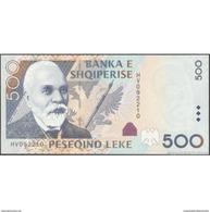 TWN - ALBANIA 72 - 500 Leke 2007 Prefix HV UNC - Albania