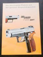 Brochure Armi Caccia - Sig Sauer P 226 Sport - Old Paper