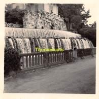 ANCIENNE PHOTO AMATEUR VINTAGE   6 Cm X 6 Cm LE CASCADE DE GAIRANT RIMIEZ NICE - Lieux