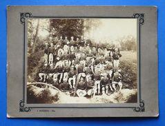 Fotografia D'epoca Militaria - Guerra D'Africa Soldati Italiani - Fine '800 - Fotografia