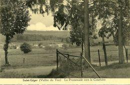 Saint Leger  Vallée Du Ton La Promenade Vers Le Cimetière - Saint-Léger