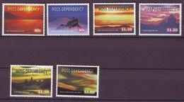 Ross Dependency - 1999 Night Skies 6v - Mint** - Nuevos
