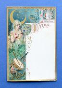 Menu Liebig - Serie 43 Sanguinetti - Dama Della Luna - Ed. Inglese - Anno 1896 - Menus
