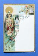 Menu Liebig - Serie 43 Sanguinetti  - Dama Del Sole - Ed. Inglese - Anno 1896 - Menus