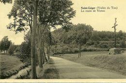 Saint Leger  Vallée Du Ton La Route De Virton - Saint-Léger