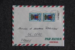 Lettre De MADAGASCAR Vers FRANCE - Madagascar (1960-...)