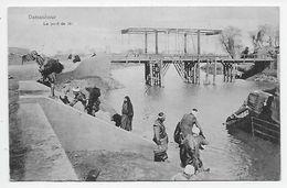 Damanhur - Le Pont Du Nil - Stamped Gibraltar London Charge And Paid Mark Sepia - Damanhur