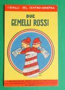 Cartolina Propaganda MSI - Due Gemelli Rossi - Illustratore Ort - 1968 Ca. - Postcards