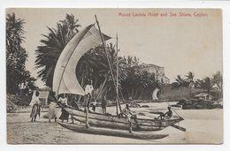 Ceylon - Mount Lavinia Hotel And Sea Shore - Plate 201 - Sri Lanka (Ceylon)