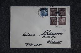 Lettre Du SUEDE à FRANCE - Lettres & Documents