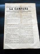 Risorgimento Storia Locale Torino - Giornale La Campana - N. 413 / 1852 - Libri, Riviste, Fumetti