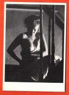 MIU-35  Femme Nue De Alain Daussin 1987, Invitation .  PC 3517. Scan Du Dos En Ligne. - Belleza Feminina (...-1920)