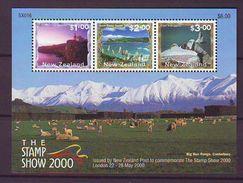 NZ - 2000 Stamp Show 2000 Scenes S/s - Mint** - Nuova Zelanda