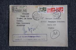 Lettre De MOSCOU à PARIS - 1923-1991 USSR