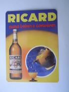1 Calendar - Portugal Bebida Boisson Drink Bevanda Getrank Juice Ricard (d92) - Kalenders