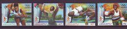 VU - 2000 Olympic Games - Sydney, Australia 4v - Mint** - Vanuatu (1980-...)