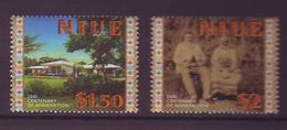 NU - 2001 The 100th Anniversary Of Annexation Of Niue Through New Zealand 2v - Mint** - Niue