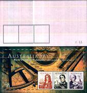 """85331) AUSTRALIA - BF - 1999 - """"Australia '99"""" - Serie Navigatori-MNH - Blocchi & Foglietti"""
