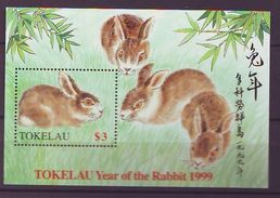 TK - 1999 Chinese New Year - Year Of The Rabbit S/s - Mint** - Tokelau