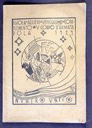 Militaria - Scuola Allievi Ufficiali V Corpo Armata Pola - Istria - Ed. 1929 - Documents