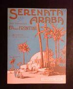 Musica Spartito - Serenata Araba - Per Piano - F.P. Frontini - 1906 C.a - Old Paper
