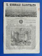 Il Giornale Illustrato - Brunswick -  Porta Capuana Napoli Anno III N° 19 - 1866 - Livres, BD, Revues