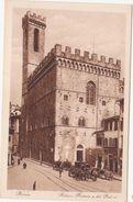 276 - FIRENZE PALAZZO PRETORIO E DEL PODESTA ANIMATA 1920 CIRCA - Firenze