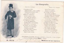 286 - LA GEOGRAFIA CANZONETTA VERSI ARIENTO MUSICA CALZELLI BIDERI 1920 CIRCA - Opera