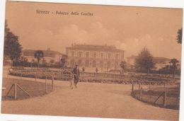 287 - FIRENZE PALAZZO DELLE CASCINE ANIMATA 1920 CIRCA - Firenze