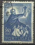 Portugal - 1952 St Francis Xavier 3e50 Used   SG 1077    Sc 755 - 1910-... Republic