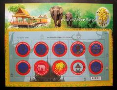 Thailand Stamp Album Sheet 2012 Provincial Emblem 7th Series - Tailandia