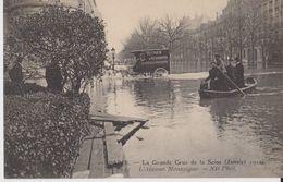 Paris - La Grande Crue De La Seine (Janvier 1910) - 117 - L'Avenue Montaigne - ND Phot - Inondations De 1910