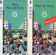 2 PLANS RATP  Metro Bus Rer T  PLAN DE PARIS *Juin 1993 *Juillet 1999 - Europe