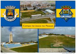 AK Stadion Postkarte Campo Do Jogos Do Pragal Almada AC Portugal Fußball Football Stadium Postcard Stadio Stade Calcio - Fussball