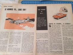 DIV415 : Clipping  SPIROU : MAQUETTE HEINKEL 111 DE MARQUE LINDBERG  -  Pour  Collectionneurs ...  2 Pages De Revue Des - Magazines