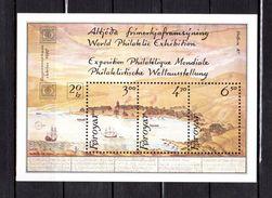 "FEROE 1986 N° YT BF N° 2 Neuf ** MNH Cote 17 € : "" EXPOSITION MONDIALE PHILATELIQUE HAFNIA 87 "". Parfait état. - Färöer Inseln"