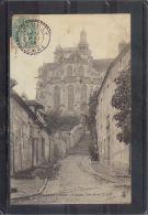 6080. CHAUMONT EN VEXIN . L EGLISE COTE NORD. (recto Verso) ANNEE  . 1905 . - Chaumont En Vexin