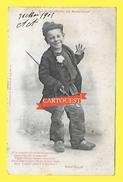 CPA LA COQUETERIE DU RAMONEUR 1905 Illustrateur Bergeret PRECURSEUR - Bergeret