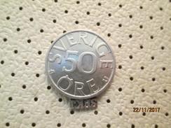 SWEDEN 50 Ore 1980 # 5 - Sweden