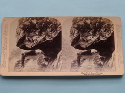 NAERO FJORD, SOGNE, NORWAY ( Norske / Norge ) Stereo Photo Underwood & Underwood ( Look For Detail ) ! - Stereoscopic