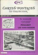Cartes Postales Et Collections Octobre  1986 Magazines N: 111 Llustration &  Thèmes Divers 132 Pages - Français