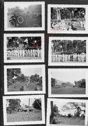 MILITARIA 8 PHOTOS DU INDOCHINOISE VIËT NAM DE SAIGON AVION 1953 ECT : - Guerre, Militaire