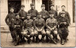 25 GONSANS - MILITARIA - 1914-1918 - CARTE PHOTO - Groupe De Soldats - France