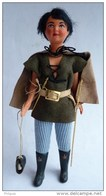 TRES BELLE FIGURINE POUPEE Années 60's THIERRY LA FRONDE - ORTF (certainement Un Custom D'époque) - Figurines
