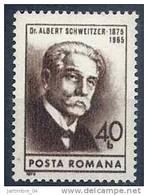 1975 ROUMANIE 2880** Schweitzer - 1948-.... Republics