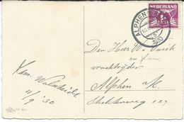 """Alphen A/d Rijn 10.IX 1930 ,,5"""" - Brieven En Documenten"""