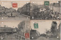LOT DE 55 CP FRANCE NOMBREUSES ANIMEES  CARTE EN L'ETAT - Postcards